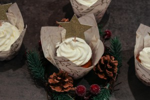 Cupcake vaille/pomme