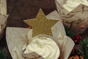 Cupcake vanille/pomme
