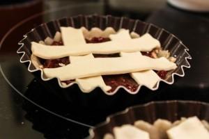 Tartelette framboises/noisettes