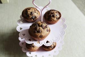 muffins au chocolat végan